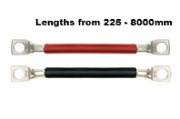 16mm2 /#6AWG  INSULATED BATTERY CABLES  WITH  EYELETS